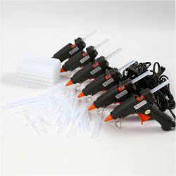 Mini Glue Guns with Glue, mini, 1set.