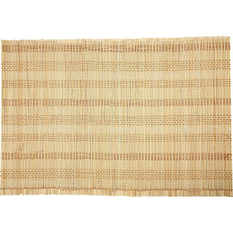 natural x bamboo rug full light