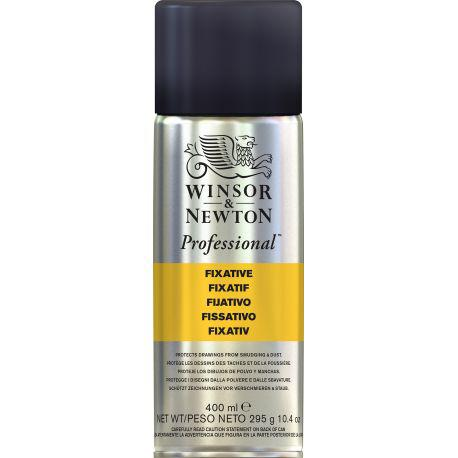 400ml can of Winsor & Newton Professional Fixative Aerosol spray