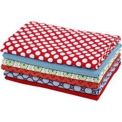Vivi Gade Design Cotton Fabric, W: 70 cm,  140 g/m2, London, 6x70cm.