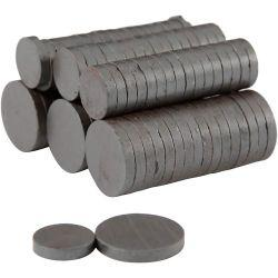 Magnets, D: 14+20 mm, thickness 3 mm, 500asstd.