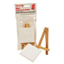 Reeves Mini Easel & Canvas