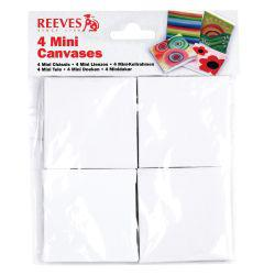 Reeves Mini Canvas 4-Pack