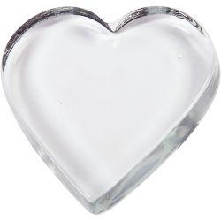 Heart, size 9x9 cm, thickness 15 mm, 1pc.