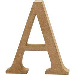 Letter, A, H: 13 cm, thickness 2 cm, MDF, 1pc.