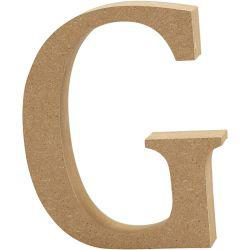 Letter, G, H: 13 cm, thickness 2 cm, MDF, 1pc.