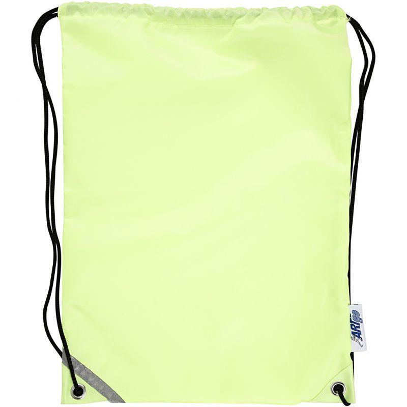 Drawstring bag, size 31x44 cm, fluorescent yellow, 1pc. - Cowling ...