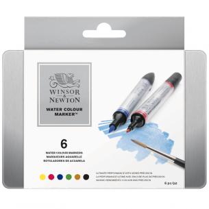 Watercolour Marker Tin of 6