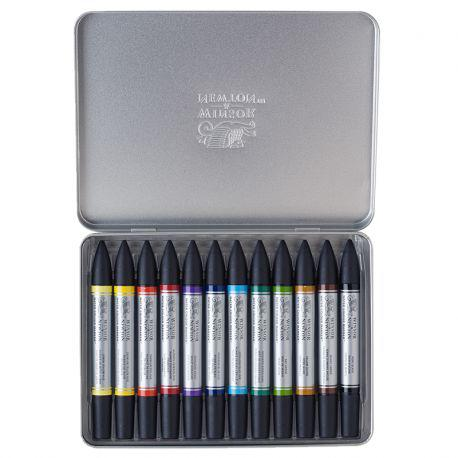 Water Colour Marker Tin of 12