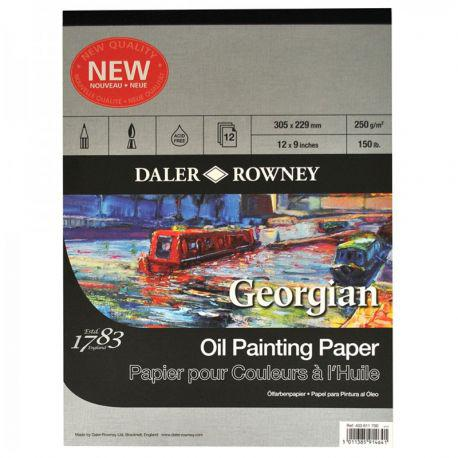 Georgian Oil Painting Pad (A4)