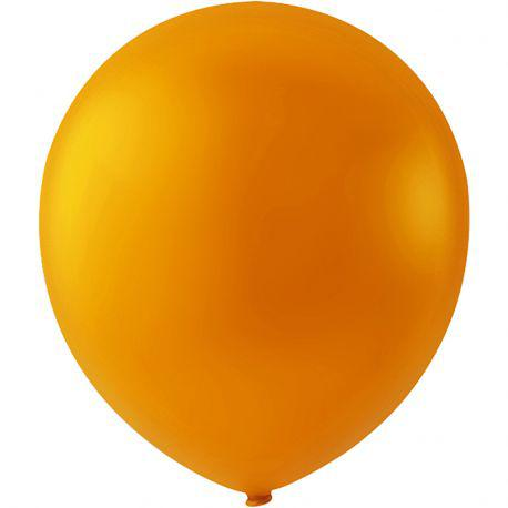 Happy Moments Balloons, D: 23 cm, orange, round, 10pcs.