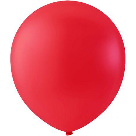 Happy Moments Balloons, D: 23 cm, red, round, 10pcs.