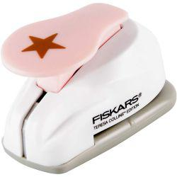 Fiskars Lever Punch, size S , D: 14 mm, star, 1pc.