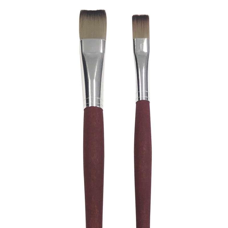 Exclusive Utility Dark Ox Hair Brush Set (Made By Da Vinci)