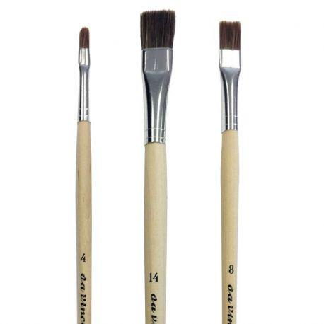 Exclusive College Oil Brush Set (Made By Da Vinci)
