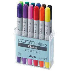 Ciao Marker Set of 12 Basic Tones