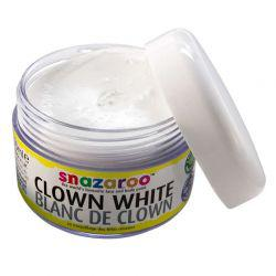 Clown White Face Paint (50ml)
