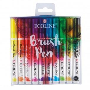 Ecoline Brush Pen Set of 10