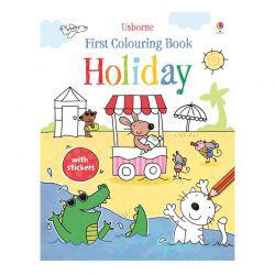 First Colouring Book: Holiday