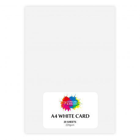 Packs of White Card (20 Sheets)