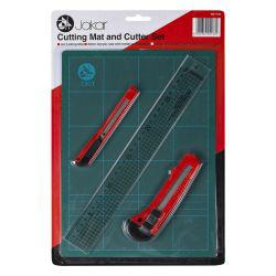 Cutting Mat & Cutter Set (A4)
