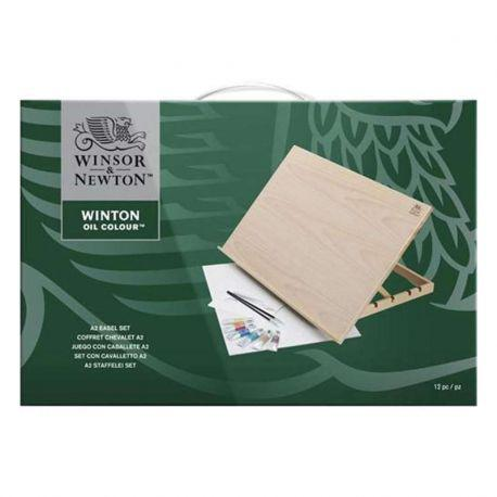 Winton Oil Colour A2 Easel Set
