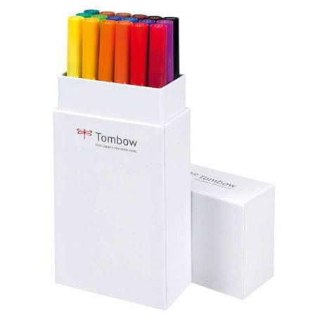 ABT Dual Brush Pen Set of 18 (Primary Colours)