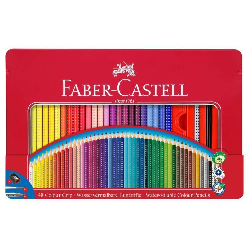 Colour Grip Pencil Tin of 48