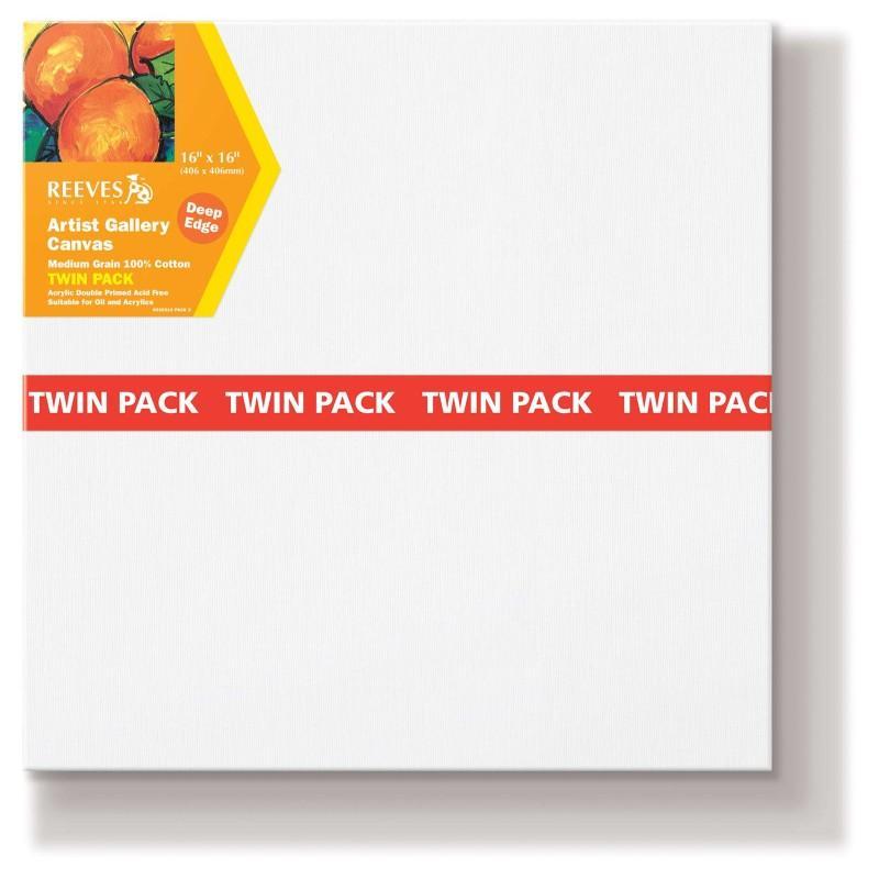 Deep Edge Canvas Twin Pack