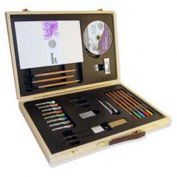 Simply Drawing Wooden Box Set