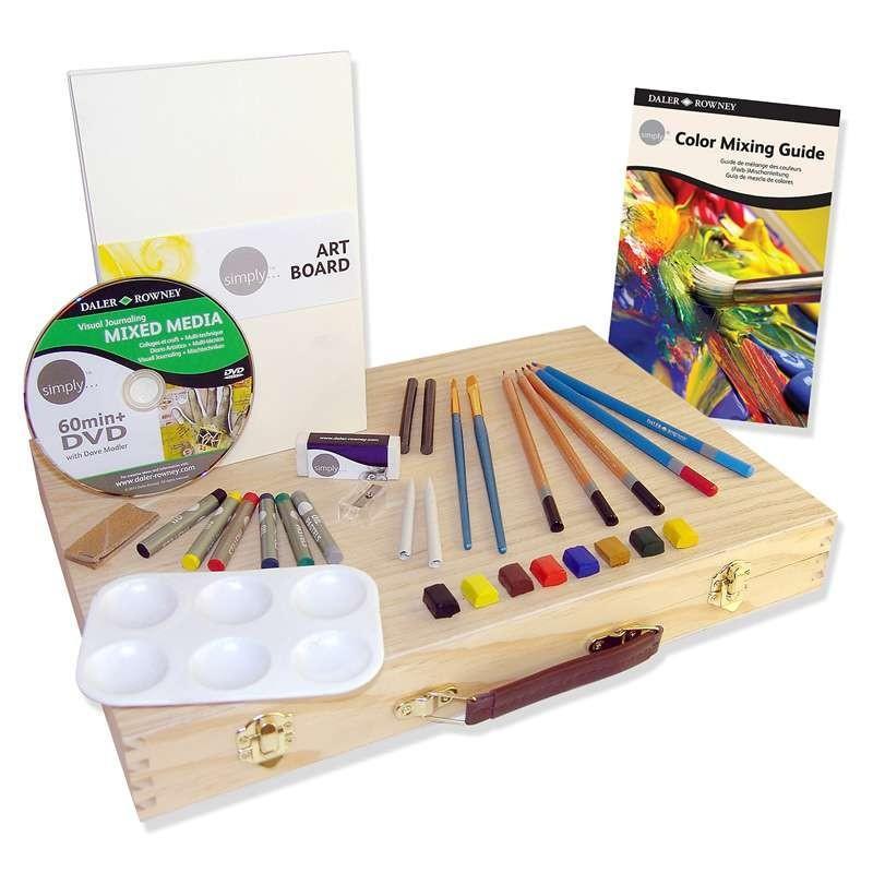 Simply Mixed Media Wooden Box