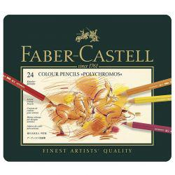 Faber Castell Polychromos Pencils Tin of 24