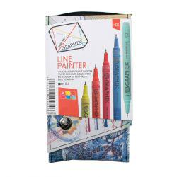 Graphik Line Paint Marker Set 1