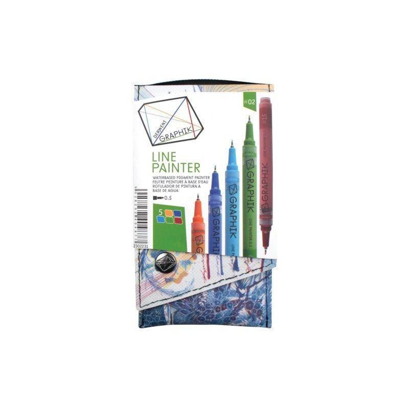 Graphik Line Paint Marker Set 2