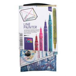 Graphik Line Paint Marker Set 3