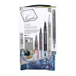Graphik Line Paint Marker Set 4