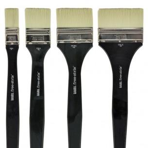 Freestyle Traditional Acrylic Brushes: Mural Long Handled Varnish