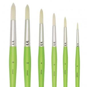 Freestyle Traditional Acrylic Brushes: Round