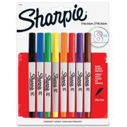 Ultra Fine Marker Set of 8 Assorted Colours