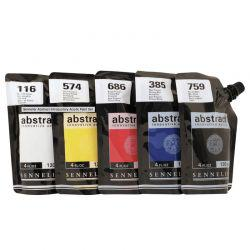 Abstract Acrylic Introduction Set (5 x 120ml)