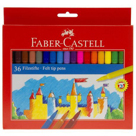 Felt Tip Pen Set of 36