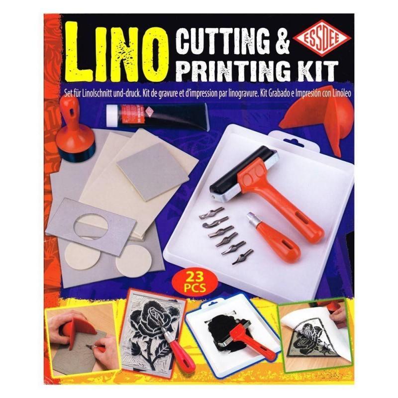 Lino Cutting & Printing Set