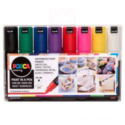 POSCA PC-7M Starter Pack (Set of 8)