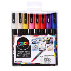 POSCA PC-3M (Set of 16)