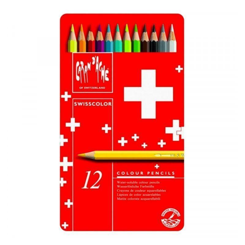 Swisscolor Pencil Tin of 12
