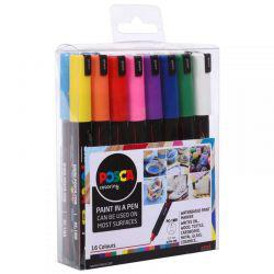 POSCA PC-1MR Complete Set of 16