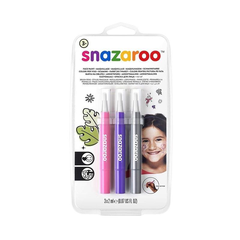 Brush Pen Face Paint Set: Adventure