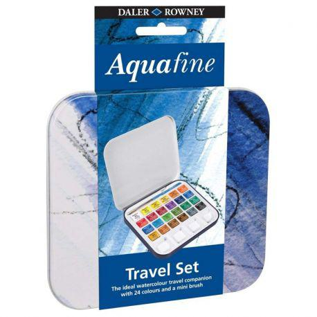 Aquafine Travel Set (24 Half Pans)