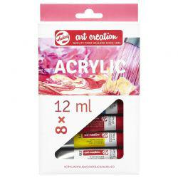 Art Creation Acrylic Set (8 x 12ml Tubes)
