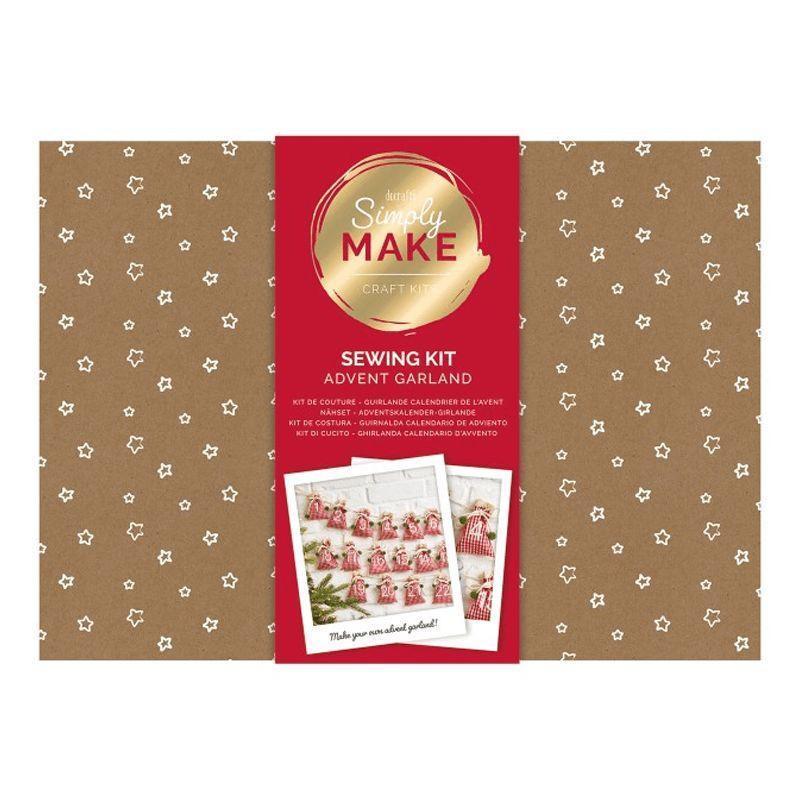 Simply Make Advent Calendar Garland